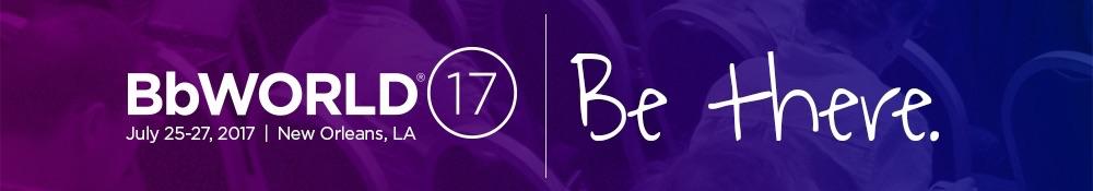 Register today for BbWorld