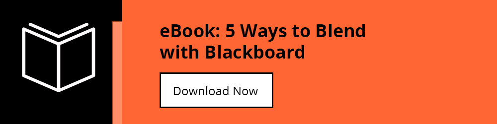 Download our eBook: 5 ways to blend with Blackboard