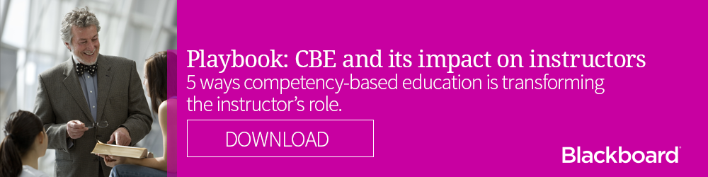 Playbook: CBE and its impact on instructors