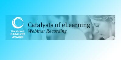 Catalysts of ELearning Webinars