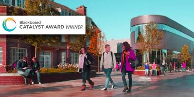 winners of the Blackboard Catalyst Awards, Edge Hill University