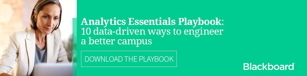 Analytics Essentials Playbook - 10 data-driven ways to engineer a better campus