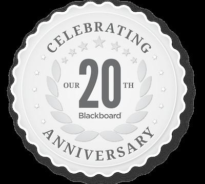 Blackboard 20th Anniversary Logo