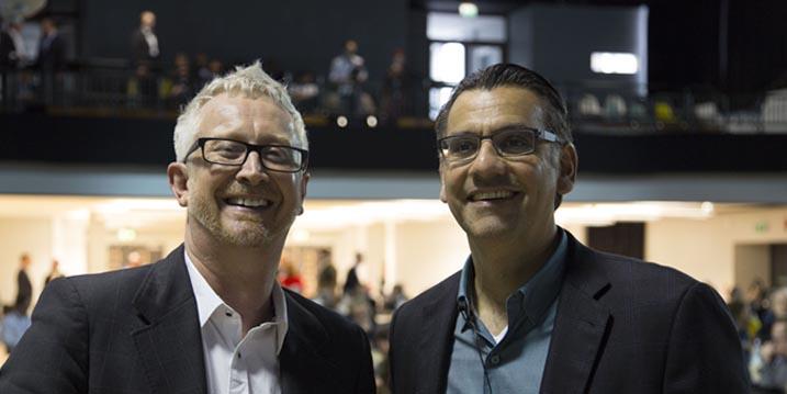 Graham Brown-Martin & Jay Bhatt.