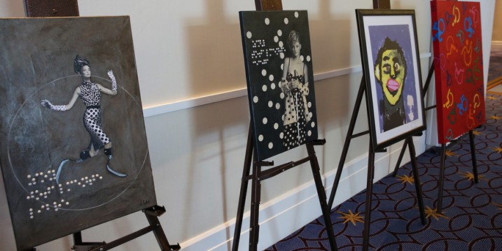 2gether art displayed at BbWorld 2015