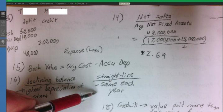 Screenshot of a document viewer displaying math problems