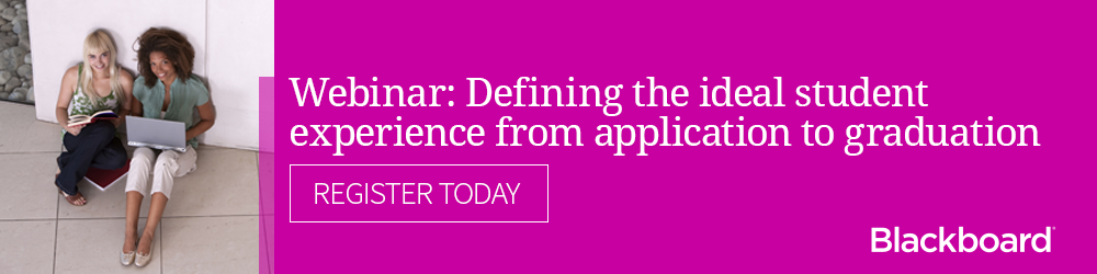 Webinar: Defining the student experience from application to graduation