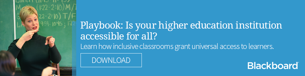 Playbook: Is your higher education institution accessible for all?