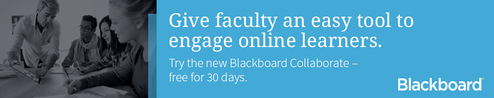 Click here to try the new Blackboard Collaborate -- free for 30 days.
