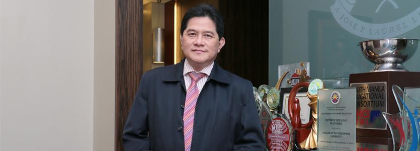 Photo Dr. Conrado E. Iñigo, Vice President for Academic Affairs Lyceum of the Philippines University.