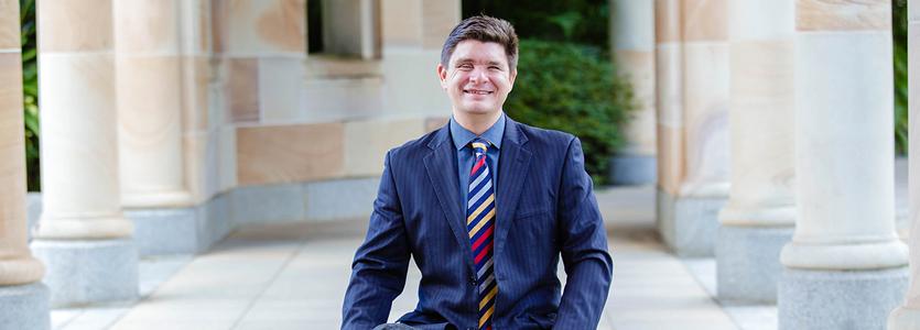 Photo Paul Harpur, senior lecturer at University of Queensland