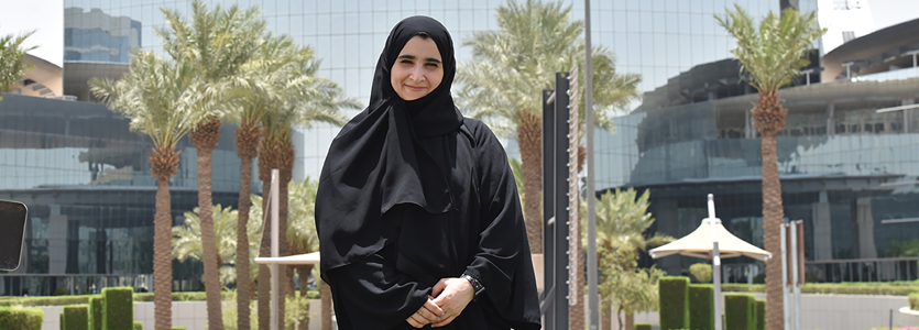 Photo Dr. Tahani Aldosemani, vice-dean of Information Technology and Distance Education at Prince Sattam Bin Abdulaziz University