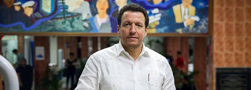 Photo José Alejandro Aybar Martín, President of Universidad del Caribe (UNICARIBE)