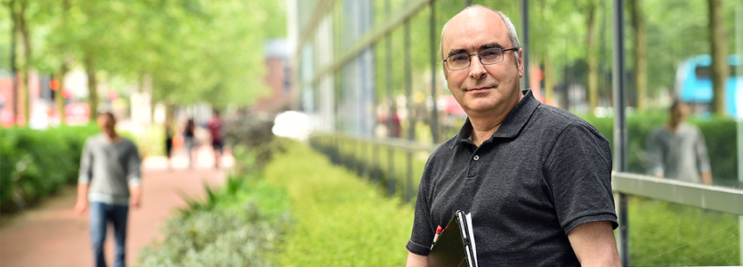 Photo Chris Howls, Professor of Applied Mathematics within the Mathematical Sciences Department, director of the University Doctoral Collegeat the University of Southampton