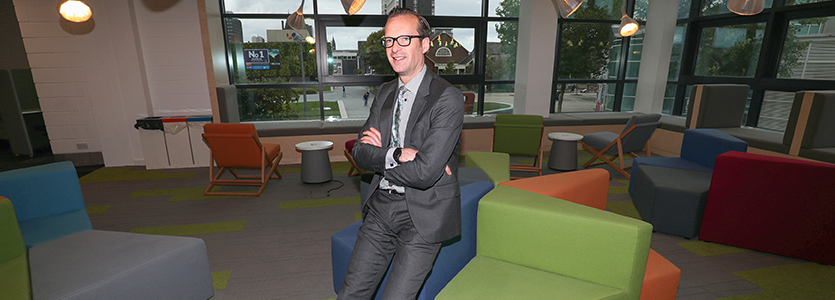 Photo Professor Mark Simpson, Pro Vice-Chancellor (Learning & Teaching), Teesside University