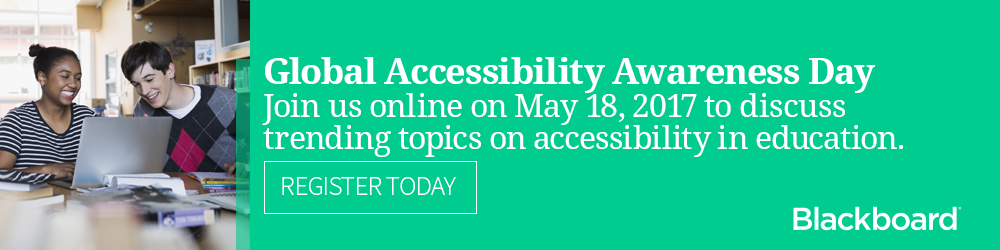 Join us for a webinar series for Global Accessibility Awareness Day