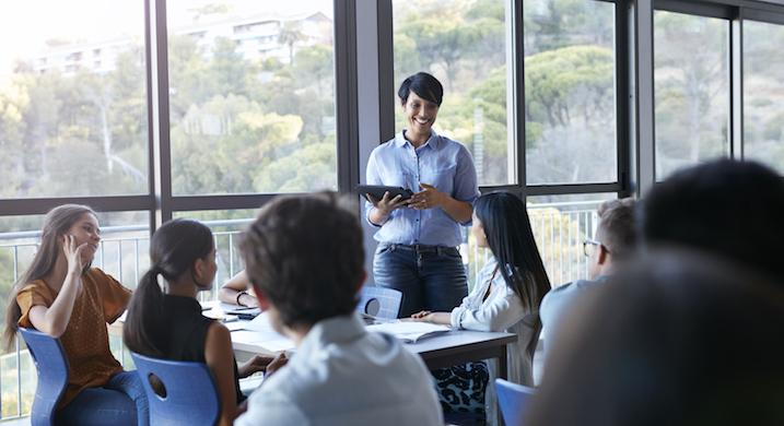 Using Amazon Alexa as a Classroom Teaching Assistant