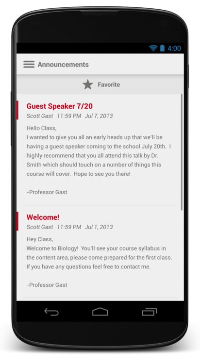 The reskinned app is meant to make mobile learning easier