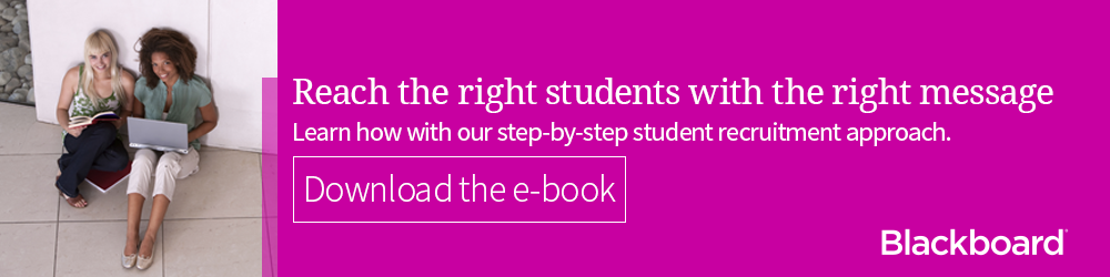 Step-by-step approach to student recruitment