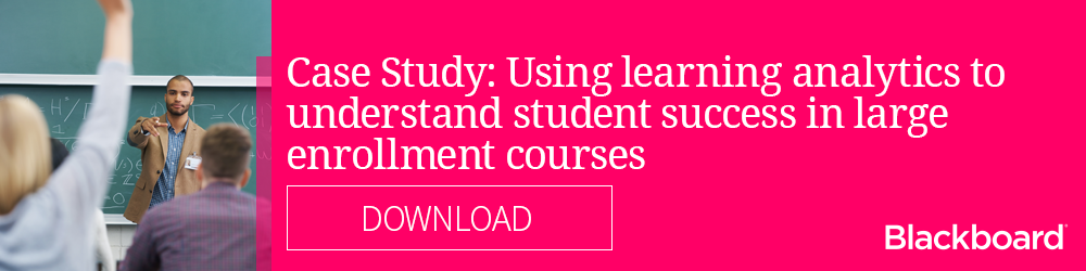 Download our case study: Using learning analytics to understand student success in large enrollment courses