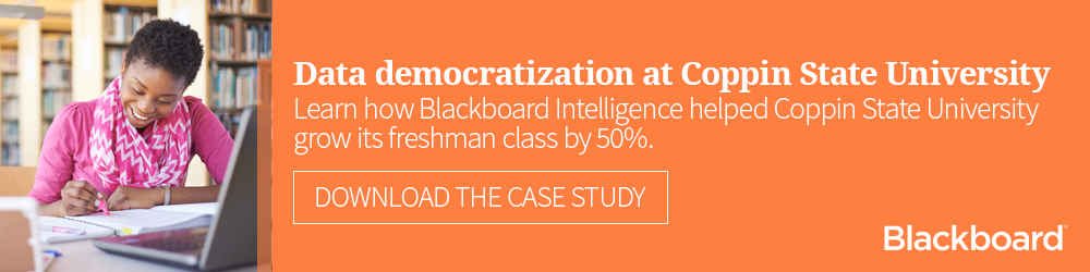Download our case study about data democratization at Coppin State University