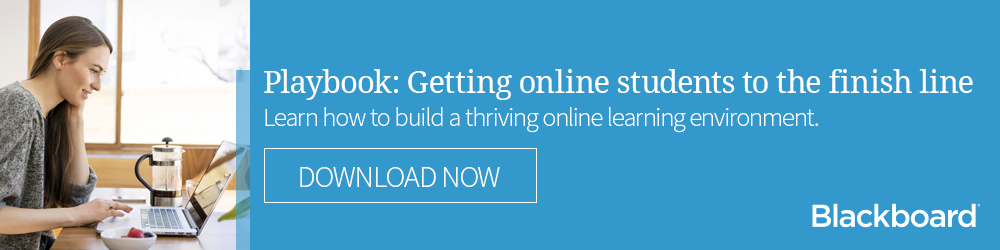 Playbook: Getting online students to the finish line